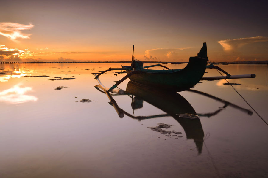 This Reflection by Gunk Satria - Landscapes Sunsets & Sunrises