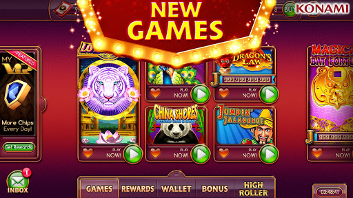 my KONAMI Slots - Free Vegas Casino Slot Machines screenshot 1