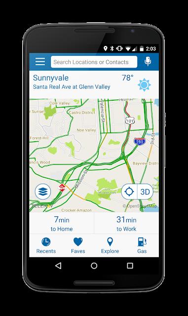 Your Navigator Deluxe: GPS screenshots