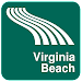 Virginia Beach Map offline Icon