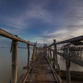 bamboo path  by Esther Pupung - Buildings & Architecture Bridges & Suspended Structures