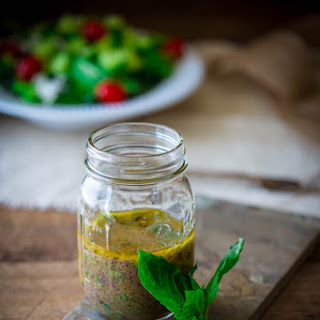 Kalamata Olive And Basil Vinaigrette