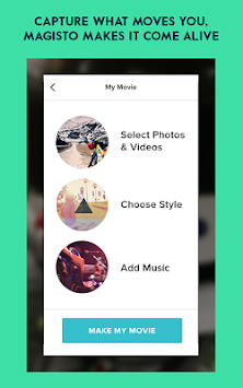 Magisto Video Editor & Maker APK screenshot thumbnail 12
