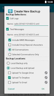 SMS Backup & Restore Screenshot