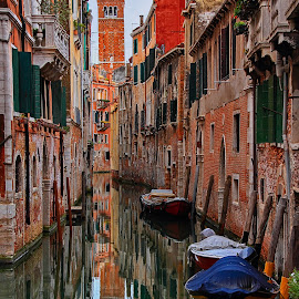 venice canal by Vernon Mata - City,  Street & Park  Historic Districts