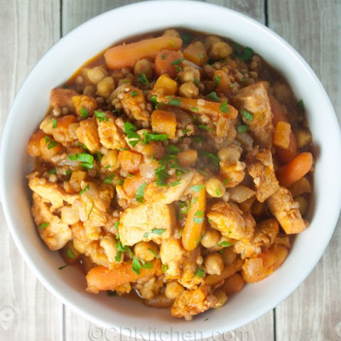 Slow Cooker Moroccan Couscous Stew