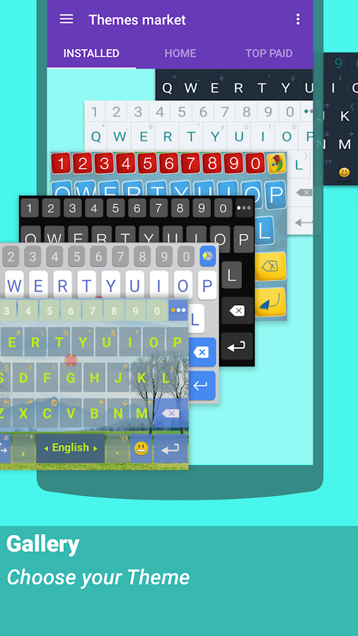 ai.type keyboard Pro + Emoji Screenshot 16