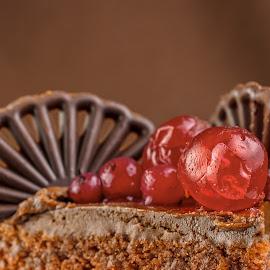 Sweets for My Sweet 2 by Ovidiu Sova - Food & Drink Candy & Dessert ( cake, chocolate, sweet, fruits, dessert )