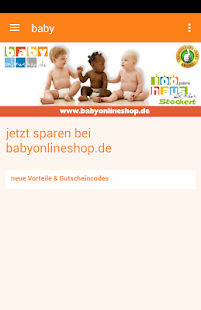 Babyshop toy section