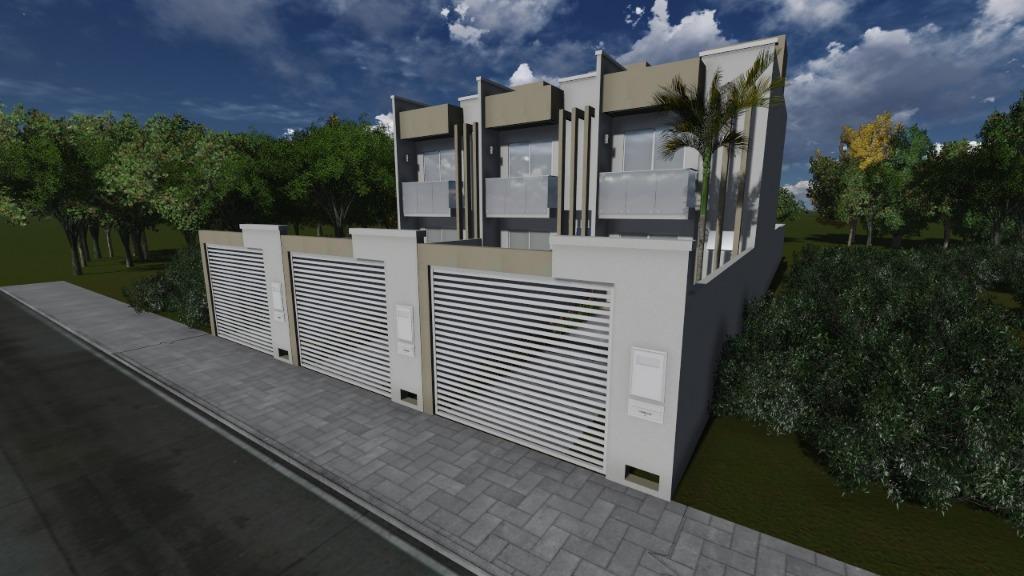 Sobrado residencial à venda, Praça, Tijucas.