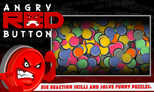 Angry Red Button - Dare Click?- screenshot thumbnail