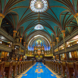 Notre Dame - Montreal by Niroshan Muwanwella - Buildings & Architecture Places of Worship