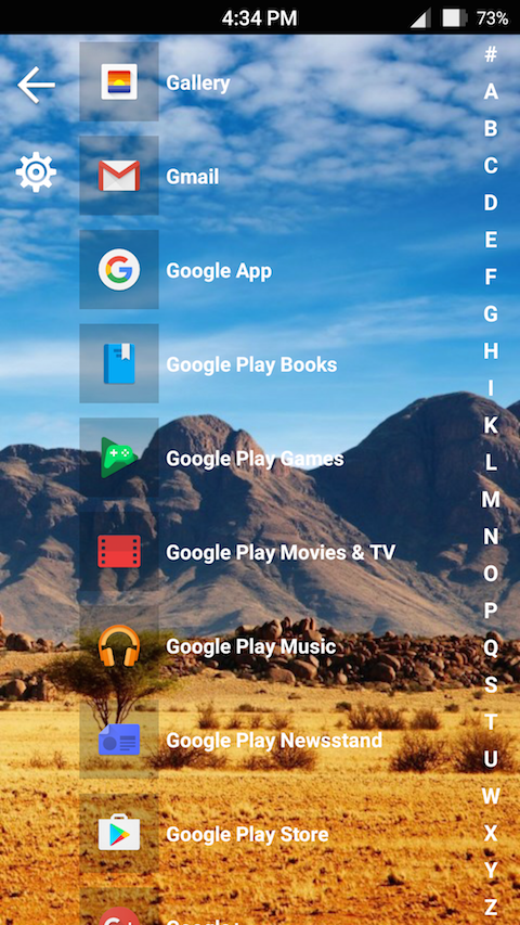 8.1 Metro Look Launcher Pro Screenshot 1