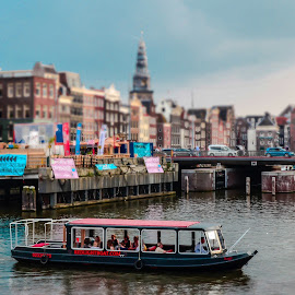 Amsterdam by Stefania Loriga - City,  Street & Park  Vistas