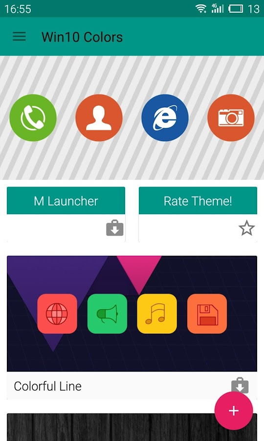 Win 10 Colors - Icon Pack Screenshot 6