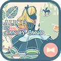 Cute Theme-Alice in Candy-land APK for Bluestacks