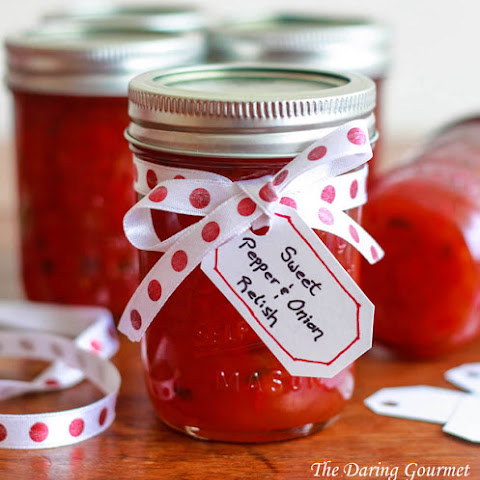 Sweet Pepper & Onion Relish