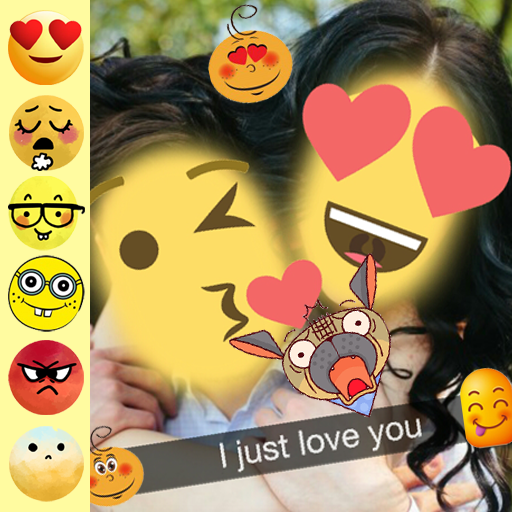 New Best Funny Free Live Emoji Face Sticker (app)