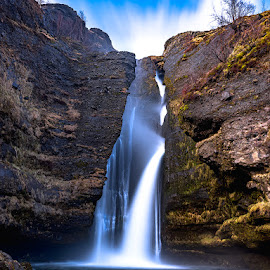 Foss by Rob Darby - Landscapes Waterscapes ( water, blue, waterfall, long exposure, flow, foss )