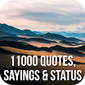 11000 Quotes, Sayings & Status APK for Bluestacks