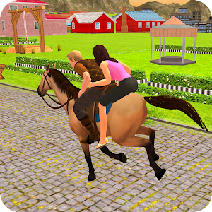 Offroad Horse Taxi Driver – Passenger Transport For PC / Windows 7/8/10 / Mac – Free Download