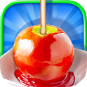 You can make candy apples any color you want~ do it right here! Learn this awesome candy apple making recipe! Glaze it with APK Icon