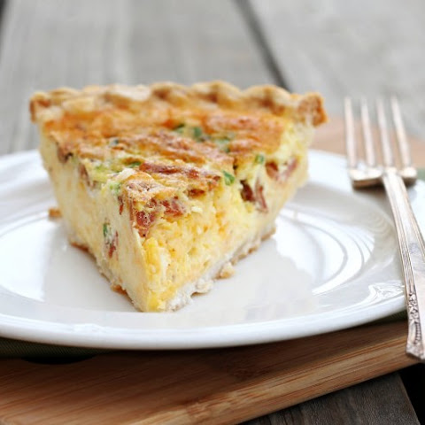 Ham And Cream Cheese Quiche