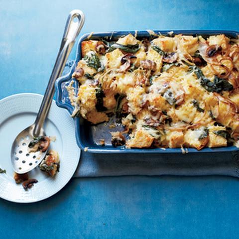 ... mushroom bacon and swiss strata bacon swiss strata recipes yummly