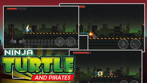Ninja and Turtle Shadow Pirate