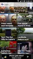 Screenshot of NBC 10 News App