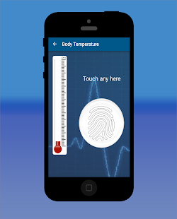 Thermometer Temp Checker Prank - screenshot