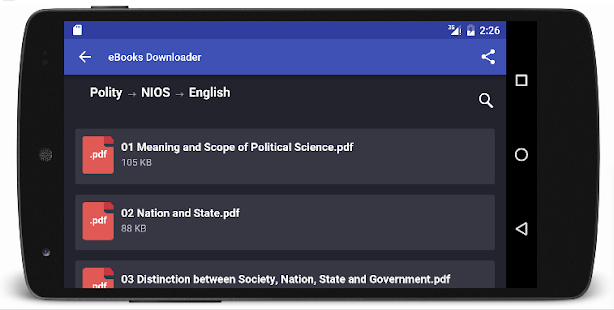 Constitution of India with MCQ Screenshot