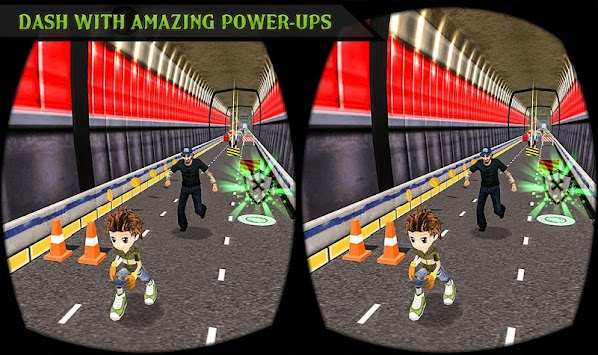 VR Subway Run apk screenshot