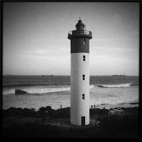 Umhlanga Rocks Lighthouse by Gareth  Evans - Instagram & Mobile iPhone ( lighthouse )