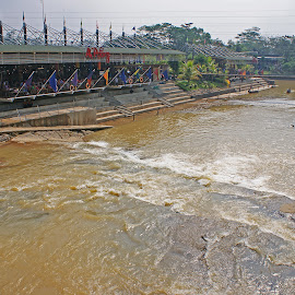 Ah Poong River by Mulawardi Sutanto - Buildings & Architecture Other Exteriors ( ah poong, bogor, river, travel, indonesia, sentul )