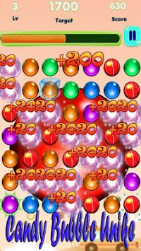 Candy Bubble Unike apk screenshot