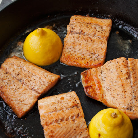 Apple Cider Glazed Salmon