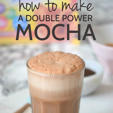 How to make a Double Power Mocha Shake