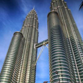 The Petronas Towers (Kuala Lumpur- Malaysia) by Muhammad Habib Ul Haque - Buildings & Architecture Office Buildings & Hotels ( muhammad habib photography, skyscrapers, kuala lumpur, malaysia, building, architecture )