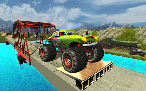 Monster Truck Hill Racing for Lollipop - Android 5.0