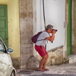 by Domenico Liuzzi - City,  Street & Park  Street Scenes
