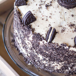 Chocolate Peanut Butter Oreo Cake