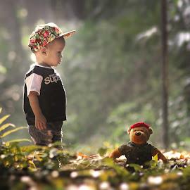 playing by Irwan Setiawan - Babies & Children Children Candids ( prewedbogor, prewedding bogor, doll, prewedding, play, children, bogorfotografia, kids )
