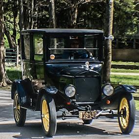 by Jim Harris - Transportation Automobiles ( car, tin lizzy, automobile, antique, classic )