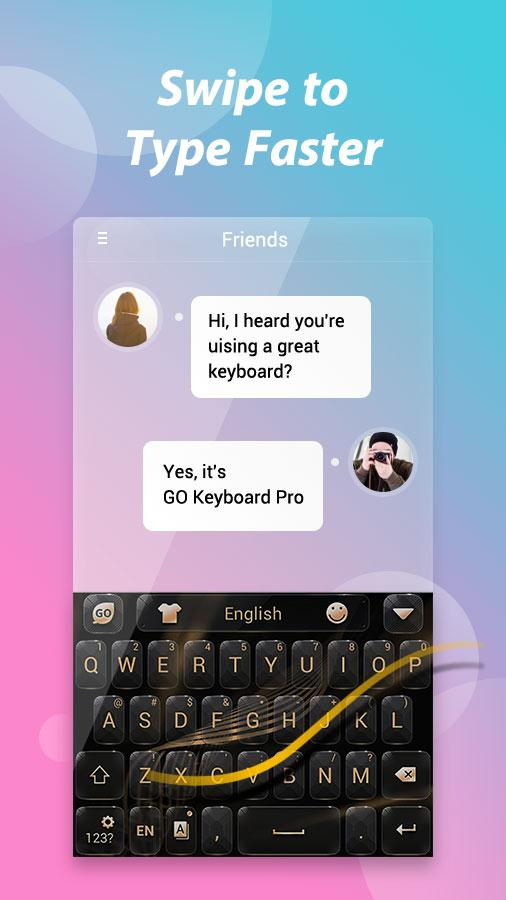 GO Keyboard Pro - Emoji, GIF Screenshot 4