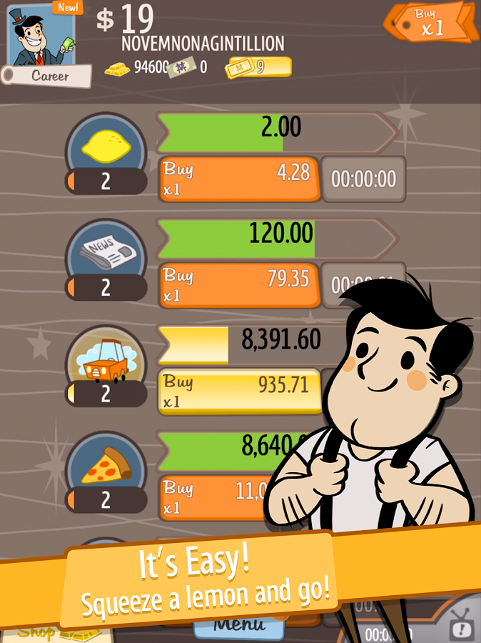 AdVenture Capitalist Screenshot 11
