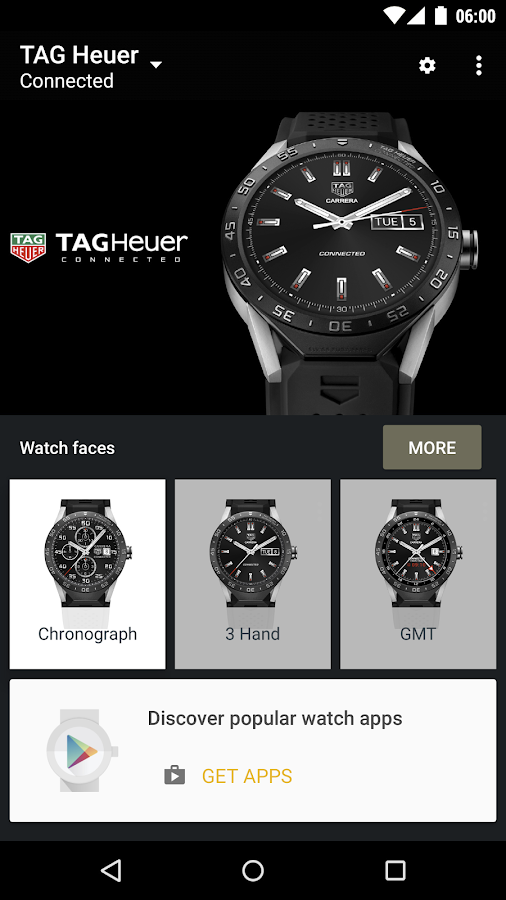 Android Wear - Smartwatch Screenshot 0