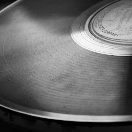 record player by Daniel Peet - Novices Only Objects & Still Life ( music, record, black and white, still, close up )