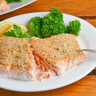 Baked Salmon With Mayonnaise And Bread Crumbs Recipes