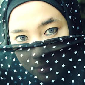 hijab by Anton Adhitian Nurgraha - People Portraits of Women